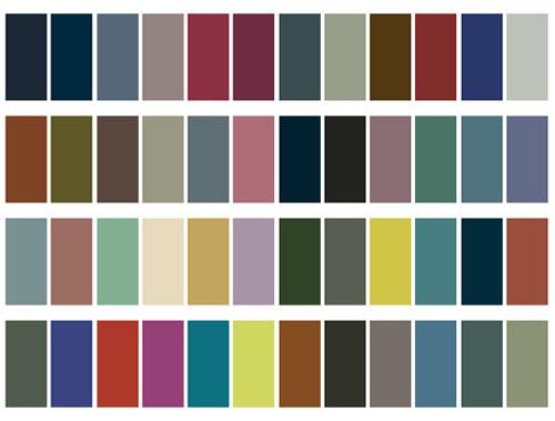 Colores para la primavera verano 2010 estilovesyourstyle 39 s for Catalogo de colores de pinturas