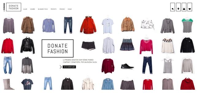 HUMANA DONATE FASHION WEB